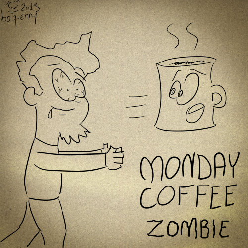 Monday Coffee Zombie!
