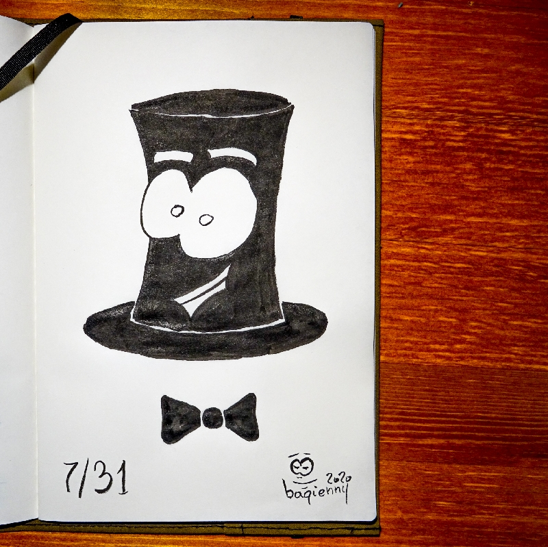 #inktober 7 #fancy (picture 2254)
