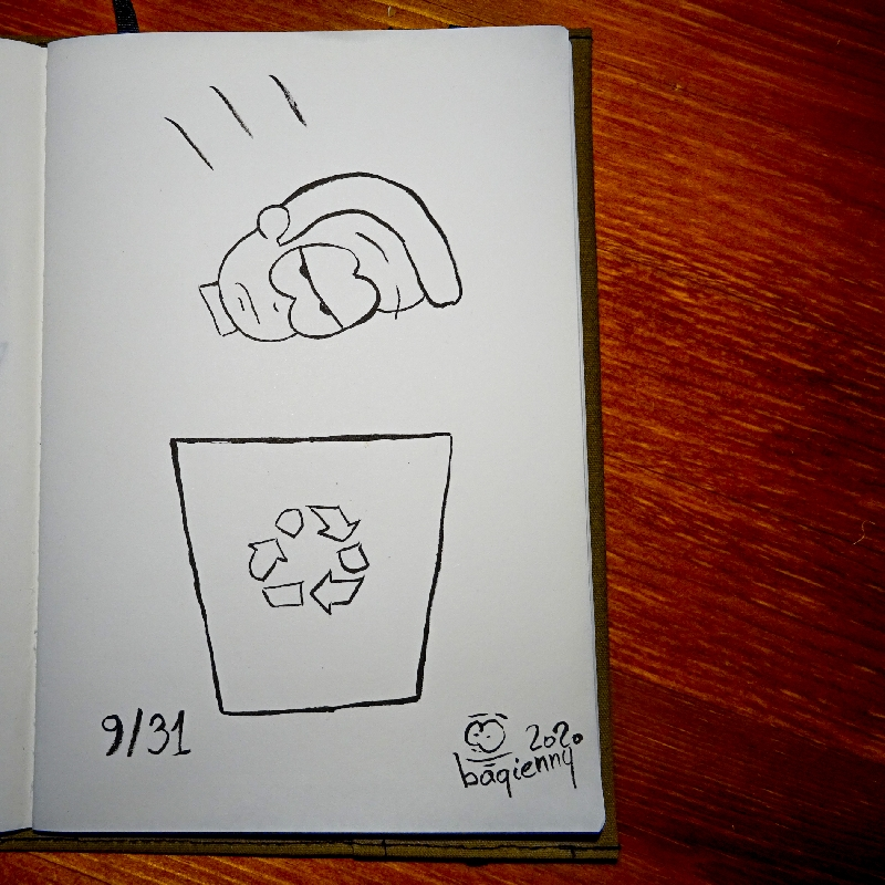 #inktober 9 #throw (picture 2256)
