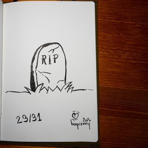 #inktober 23 #rip (picture 2270)