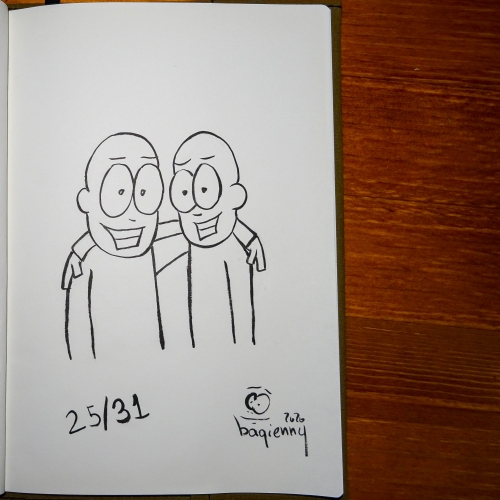 #inktober 25 #buddy (picture 2272)