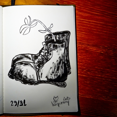 #inktober 29 #shoes (picture 2276)