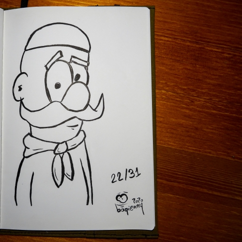 #inktober 22 #chef (picture 2269)